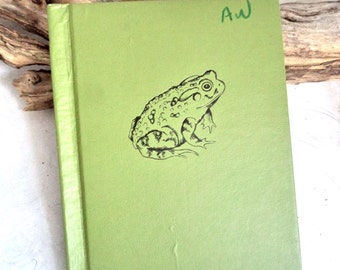 1954 Bufo The Story of A Toad, Illustrated 1st Edition Children's Book, Toad, Animal Book, Illustrated Book, Adventure, Gift for Child