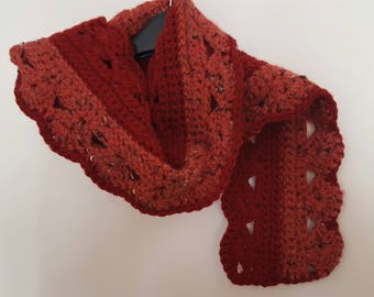 Beautiful Bulky Weight Scarf