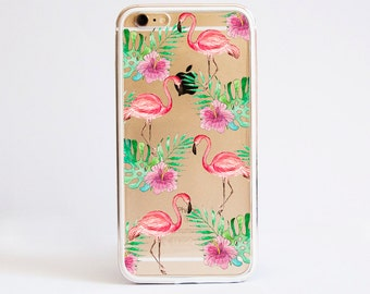 Aluminium Bumper Pink Flamingo Cell Phone Case for iPhone and Samsung