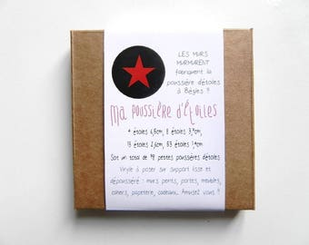 My Stardust - 78 stickers stars red pouch