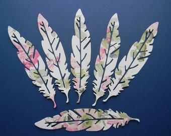 Anna Griffin Die Cut Feathers (279-F)