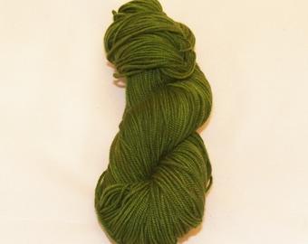 Juniper- Merino Worsted Weight Yarn- Hand Dyed- OOAK- 0007