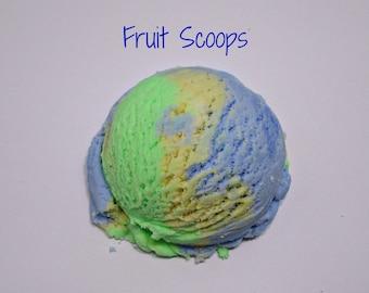 Fruit Scoops Solid Bubble Bath- Bubbly