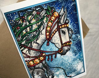The (sleigh bell) Greeting Card