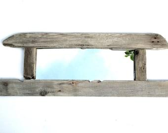 Driftwood Mirror - Wall Mirror - Nautical Mirror - Reclaimed - Wooden Mirror - Recycled - Upcycled - Wooden Mirror - Home Decor