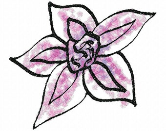 Daisy  Machine Embroidery Design...3030