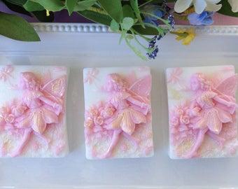 Fairy Soap Favors - Set of 10 - Fairy Birthday Favors - Girls Party Favors - Fairy Soap - Fairy Party