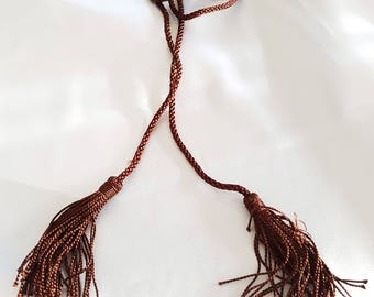 Brown cord for Caftan belt