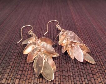 Funky Little Sterling Silver Earrings