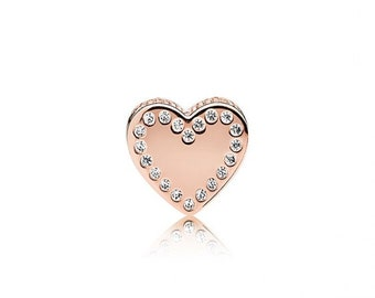 Authentic Pandora Rose DEDICATION Essence Collection Charm