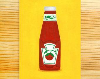 Ketchup 5x7 Art Print