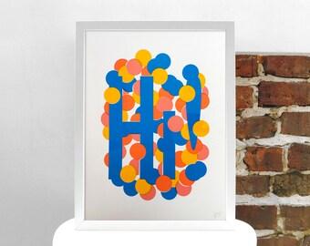 Hi! Giclée Print