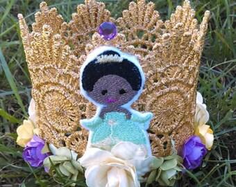 Princess Tiana, Birthday Crown, Princess Tiara