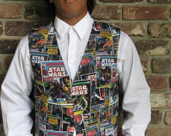 Star Wars/ Marvel Waist Coat, Vest, Prom