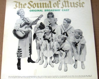 Vinyl LP The Sound Of Music (Original Broadway Cast) Very Good condition FREE SHIPPING