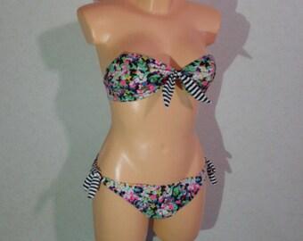 Vintage 90s. Two Piece bikini Swimsuit