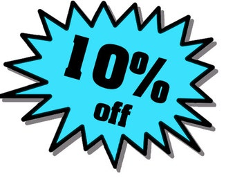 SAVE SALE 10 Percent off Coupon Code Discount SAVE10