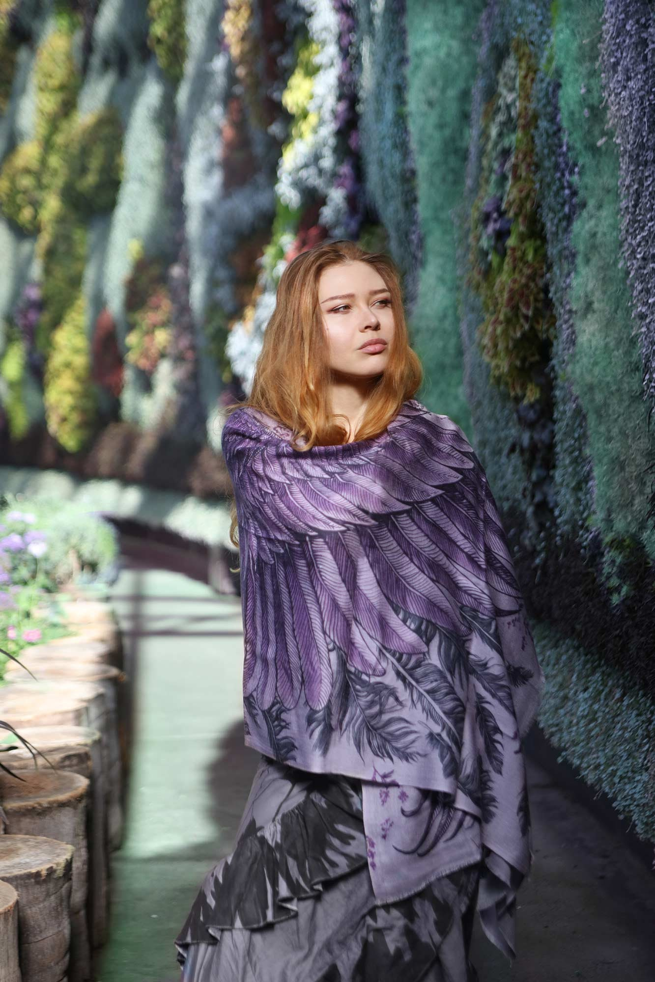 Cotton Sarong, Fairy Wings, Sarong Cover Up, Cotton Shawl, Unique Scarf, Purple Pareo, Oversize Scarf,Summer Shawl,Perfect Gift