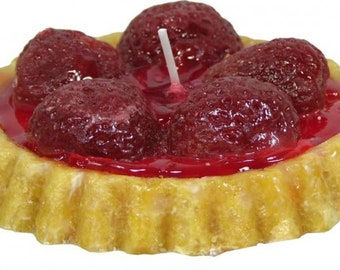 Candle Fruit Tart Strawberry