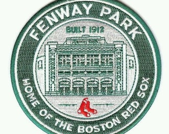 Boston Red Sox Fenway Park Patch Digital Photo