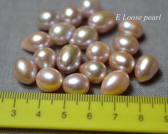 AA Earring pearl Teardrop pearl Freshwater pearl Wholesale pearl Loose pearls Rice pearl Necklace pearl Drop pearl 9.5-10mm 5Pieces