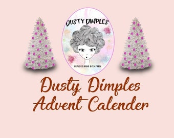 Dusty Dimples Christmas Yarn Advent - Main Post Pre Order