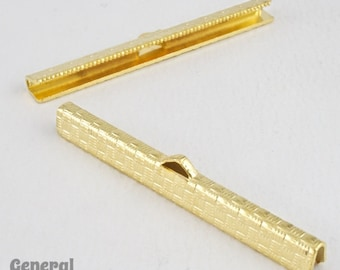 2 Inch Gold Tone Bar Clamp #MFK024
