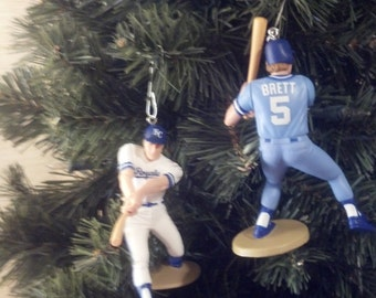 George Brett Kansas City Royals baseball christmas ornament