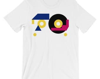 Men's Minimalist 80s Retro T-Shirt based on Memorex dBS Blank Cassette Tapes