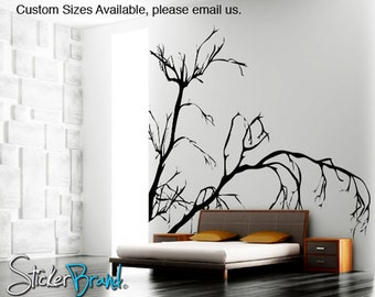 Vinyl Wall Decal Sticker Weeping Tree Branches  AC147m