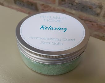 RELAXING Aromatherapy Bath Salts - Dead Sea Bath Salts, Simmering Salts, Natural Bath Salts, Bath Soak, Bath and Body, Mother's Day Gift