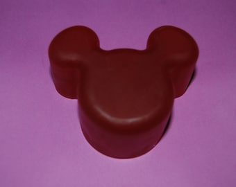 Large Red Cartoon Mouse Soap