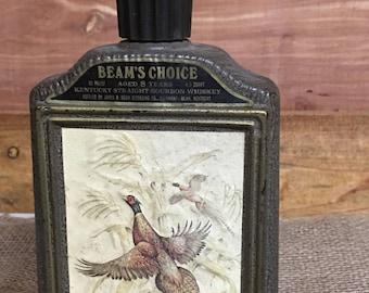 Vintage Pheasant Bottle, Decanister, Kentucky Straight Bourbon,
