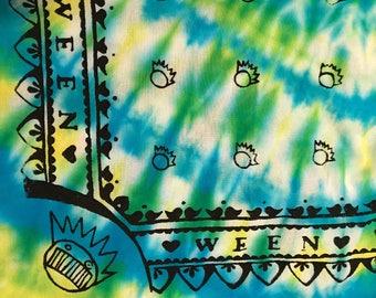 Ween 4-Corner Boog Bandana TIE-DYE
