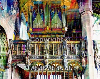 St Mary in the Baum Rochdale No1 - Print Run of 100