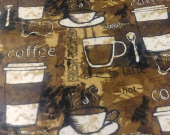 Coffee weighted sensory blanket 10 lbs 42 x 72  *** FREE SHIPPING ***