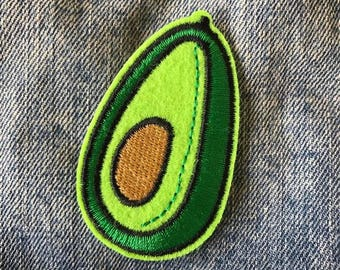 AVO Avocado Iron on Patch