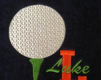 Personnalisés de Softball Baseball Golf Tennis football grec monogrammé sportif Cheerleading essuie-mains