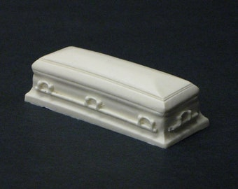 1:25 G scale funeral home cremation casket hearse