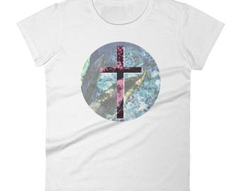 Women's Cross Christian short sleeve t-shirt