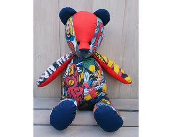 Marvel bespoke handmade Retro Bear