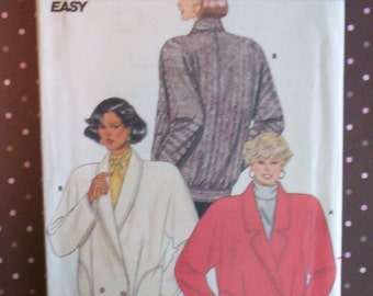 Vintage 1980s Sewing Pattern - Butterick 4120 - Misses' Jacket (Size 14-16-18) - Sewing Supplies