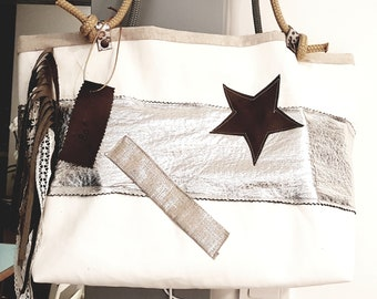 Voile bag and silver