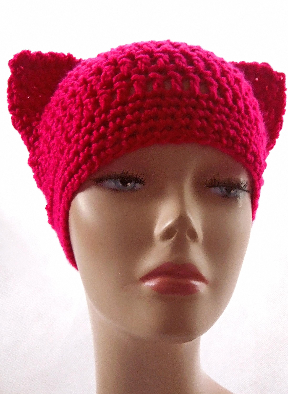 Enchanting Cat Hat Crochet Pattern Gallery - Sewing Pattern for ...