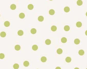The Quilted Fish Fabric, Sweet Divinity by The Quilted Fish for Riley Blake Fabrics, C6106 Sweet Dots in Cream