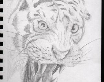 Custom Sketch Book Page