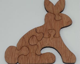 Easter Jigsaw Puzzle Rabbit