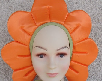 Orange flower costume for toddlers, kids and adults