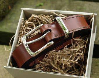 English Leather Belt