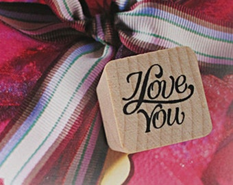 I Love You Stamp (0.75 x 0.75in)